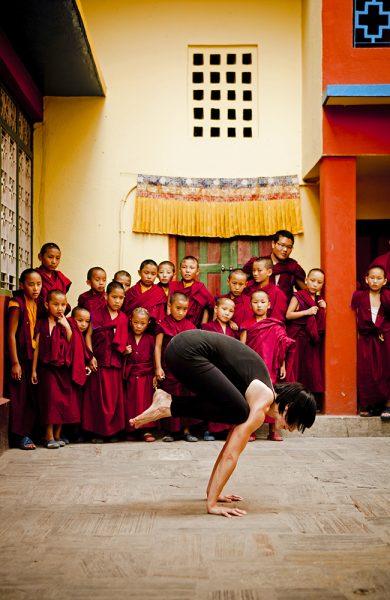 Yoga hadde sin opprinnelse i Himalayaregionen og svært mange i Nepal praktiserer yoga. Sjekk ut Mandala Yoga Studio og Pranamaya Yoga. Foto: Pranamaya Yoga