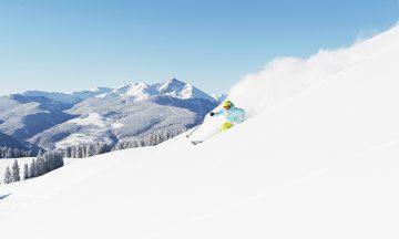 Vail har toppet Ski Magazines årlige avstemning 14 ganger de siste 19 årene! Snøen her  blir kalt champagnepudder, fordi den er så tørr og lett. Foto: Jack Affleck