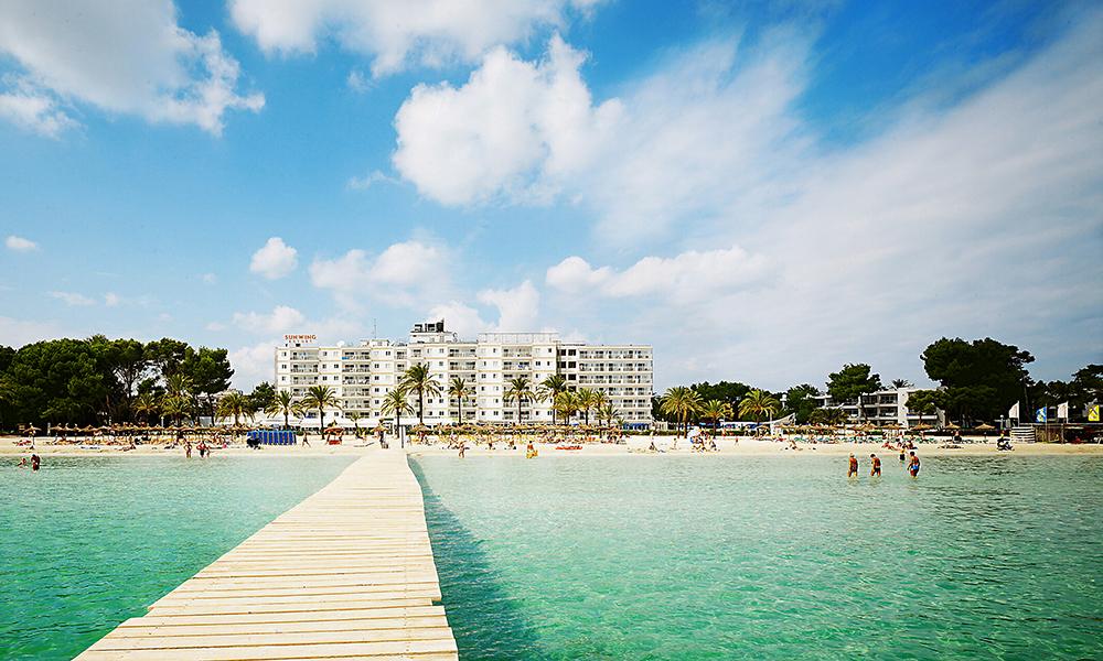 Sunwing Resort Alcudia Nuevas Palmeras er et populært valg hos reisende med Ving. Foto: Ving