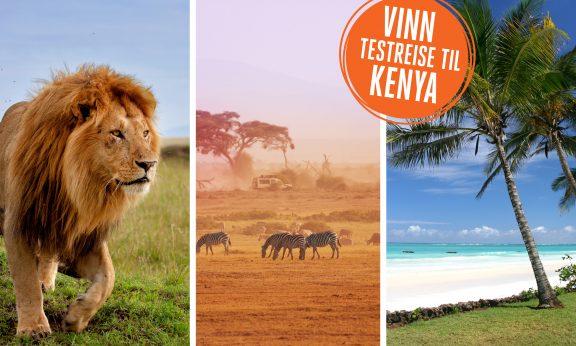 Det er ikke hver dag man får muligheten til å dra på safari i Kenya – helt gratis! Meld deg på vår testreise, og du er med i konkurransen!