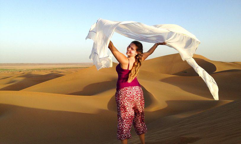 12. Ørkendans