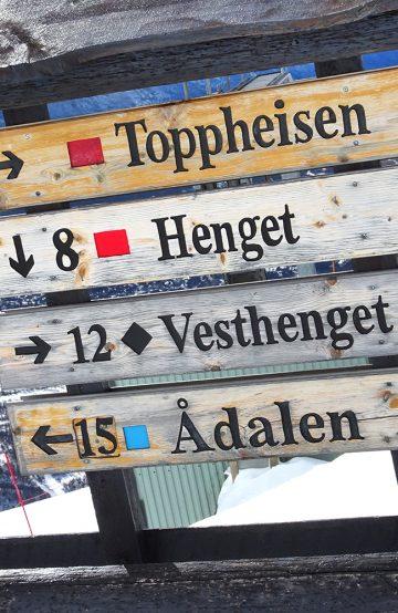 Når været tillater det og alle heiser er åpne, byr Oppdal på en flott rundtur i åttetall fra Vangslia via Ådalen til Stølen og så til Hovden og tilbake til Vangslia. Foto: Torild Moland