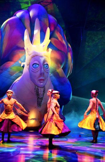 Cirque du Soleil-showet Mystère var det første av sitt slag i Las Vegas, og er fortsatt populært. Foto: Mari Bareksten