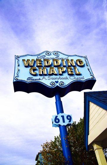 Til og med Jon Bon Jovi har giftet seg på Graceland Wedding Chapel. Foto: Mari Bareksten
