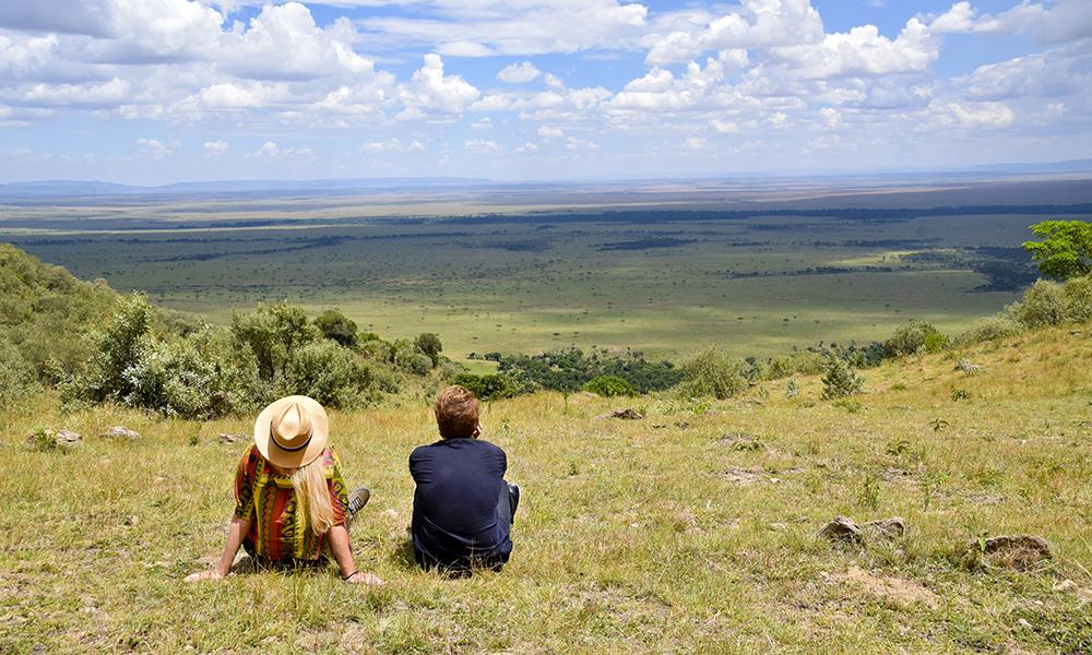 Gjør som Meryl Streep og Robert Redford i filmen «Mitt Afrika» og ha piknik på savannen. Foto: Mari Bareksten