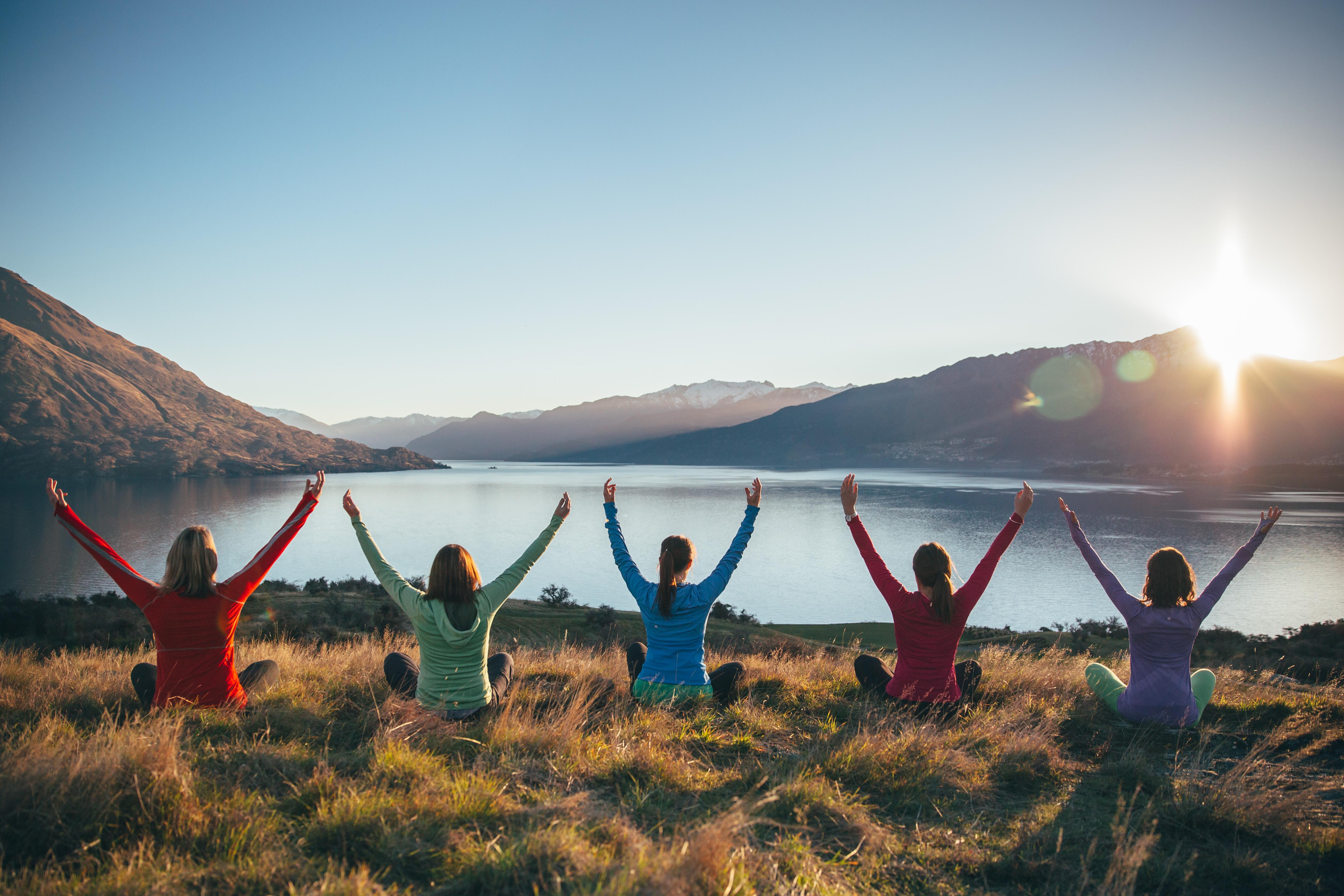 Pust inn, pust ut – yogaferie er godt for både kropp og sjel. Foto: Soul Journeys