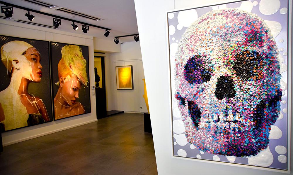 Det kjente Opera Gallery finnes også i Miami, i det nyutviklede og eksklusive handleområdet Design District. Foto: Mari Bareksten