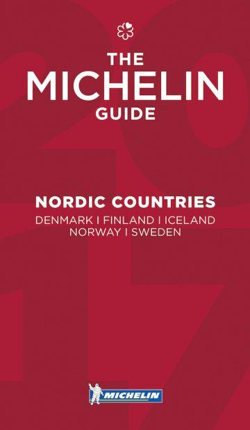 Slik ser den ut, årets Michelin-guide til Norden. Du kan kjøpe den i utvalgte bokhandlere - eller laste ned appen gratis.
