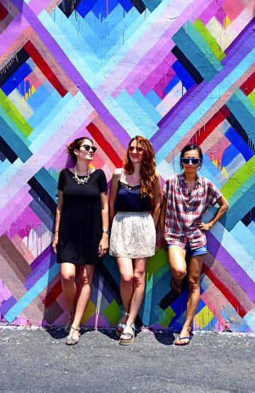 Fargerike Wynwood Walls er en perfekt fotobakgrunn. Foto: Mari Bareksten