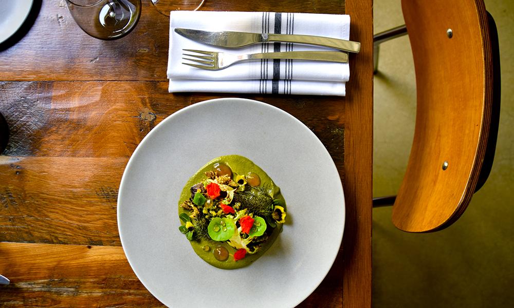 På restauranten Alter er maten pen som kunst, og i gourmetklasse, men med helt akseptable priser. Foto: Mari Bareksten