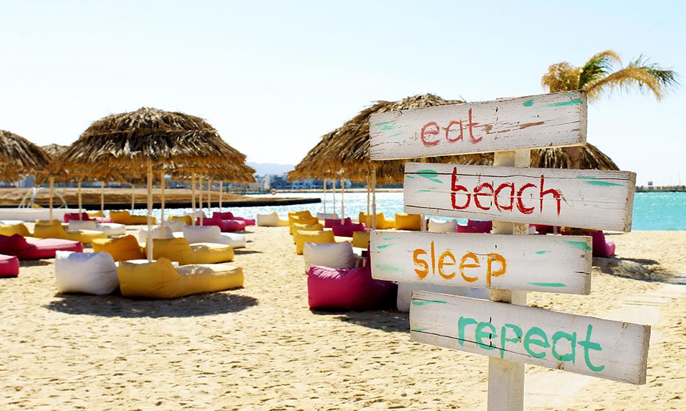 Aqaba byr på herlig strandliv! Foto: Ida Anett Danielsen