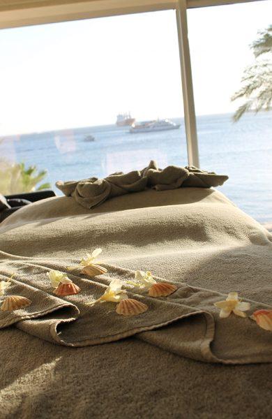 På Kempinski hotell i Aqaba har de et fint spa, hvor slitne feriemuskler kan bli behandlet. Foto: Ida Anett Danielsen