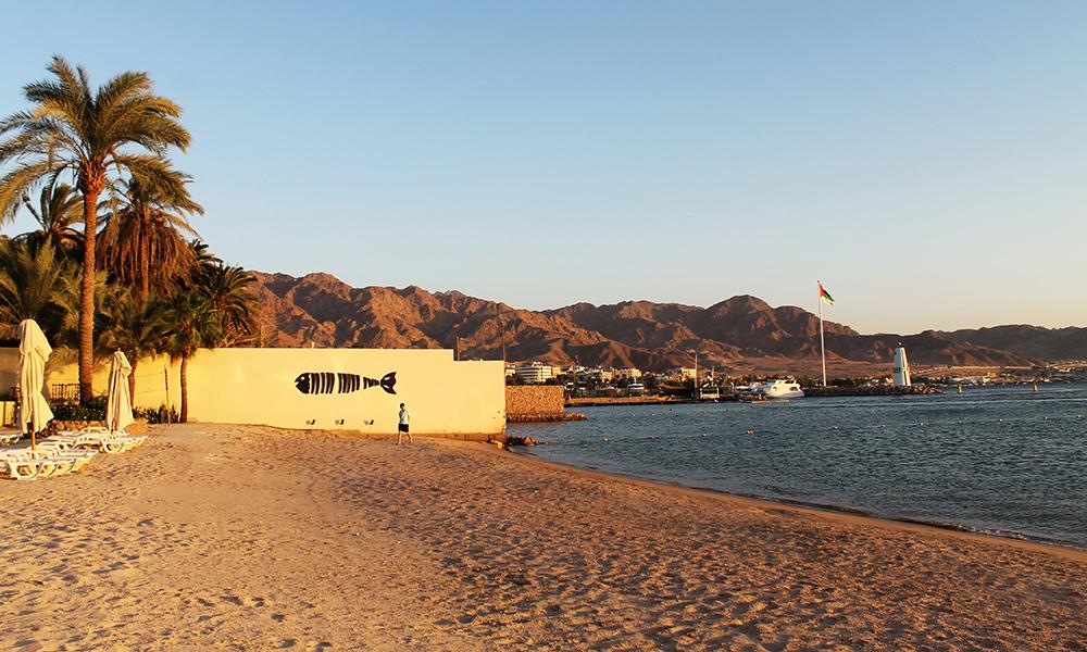 Aqaba har pusset opp både hotell og strender og er klare for å bli Rødehavets store charterdestinasjon igjen. Foto: Ida Anett Danielsen