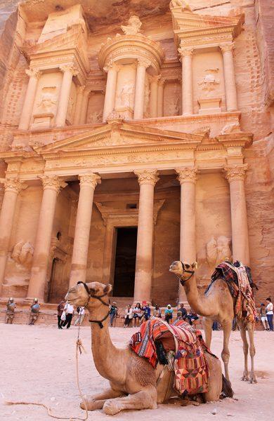 Et obligatorisk motiv i Petra. Foto: Ida Anett Danielsen