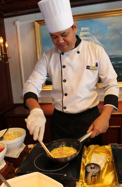 Fersk omelett til frokost, laget akkurat slik du vil ha den. Foto: Ida Anett Danielsen
