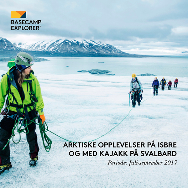 Basecamp Spitsbergen mars-april 2017