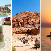 Jordan kan tilby et gyllent triangel av severdigheter – fra strandliv i Aqaba til magiske Petra og Dødehavet. Foto: Ida Anett Danielsen