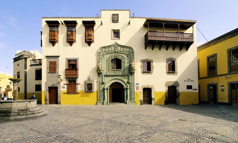I den historiske bydelen Vehueta er Casa Colon et av høydepunktene. Foto: iStock