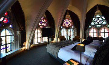 Martin's Patershof er et hotell inni en avhellig kirke i Mechelen. Her kan du overnatte i stil! Foto: Mari Bareksten