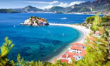 Sveti Stefan peninsula, Montenegro