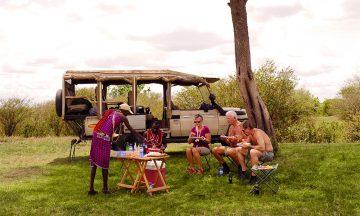 Mellom safarietappene blir det god tid til å finne roen på økosafari. Foto: Torild Moland