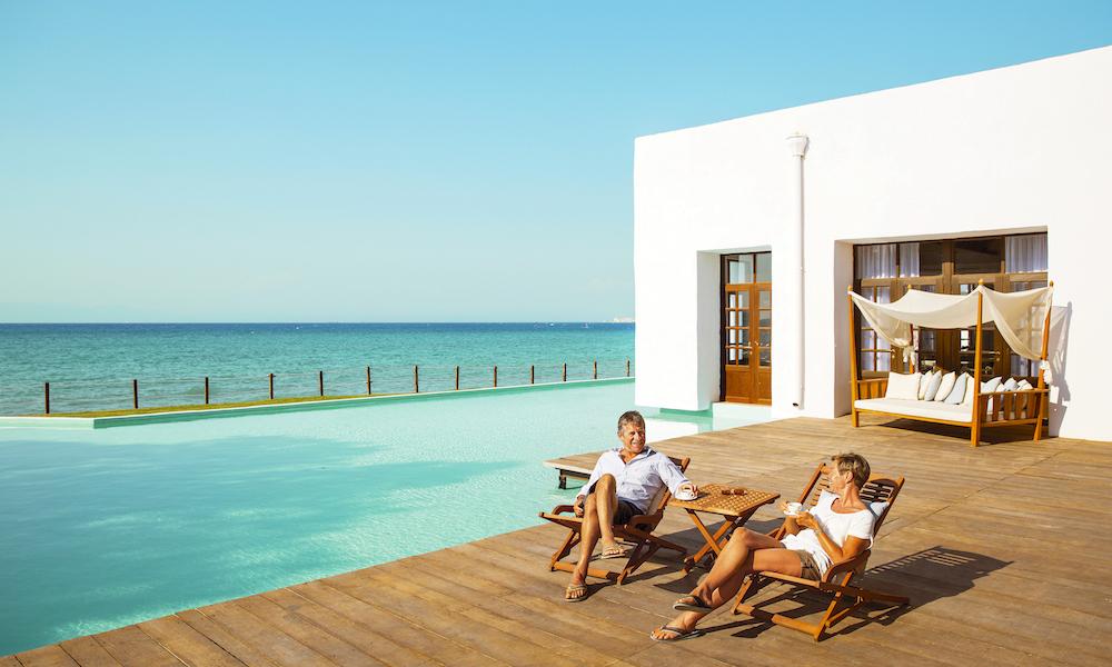 Luksus for to: På Vings Sunprime Miramare på Rhodos. Foto: Ving