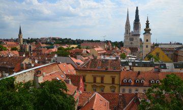 Med åpning av ny direkterute 21. mai blir det nå enklere å komme seg til Kroatias hovedstad Zagreb. Foto: Marte Veimo