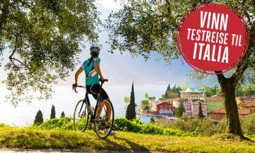 Ta sjansen: Vinn gratis testreise til Italia! Foto: Istock