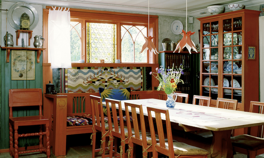 Her bodde han: Den svenske kunstneren Carl Larssons hjem er verdt et besøk. Foto: Carl Larsson-gården