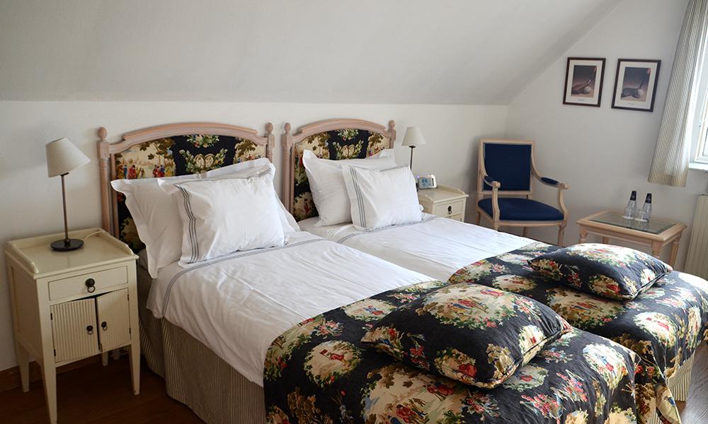 Sov godt: I hotell Gässlingen i Skanør. Foto: Marte Veimo