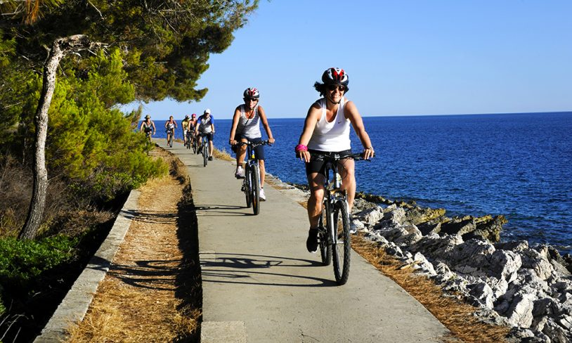 5. Med sykkel på cruise – Kroatia