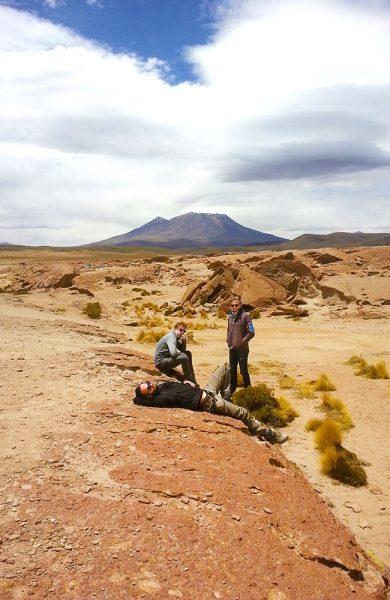 En tredagers tur i Bolivias ørken er ingen luksustur, men med opplevelsene og omgivelsene blir det en reise for livet. Foto: Helene Iversen