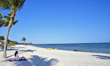 Smathers Beach er en av de fineste strendene i solrike Key West. Foto: Mari Bareksten