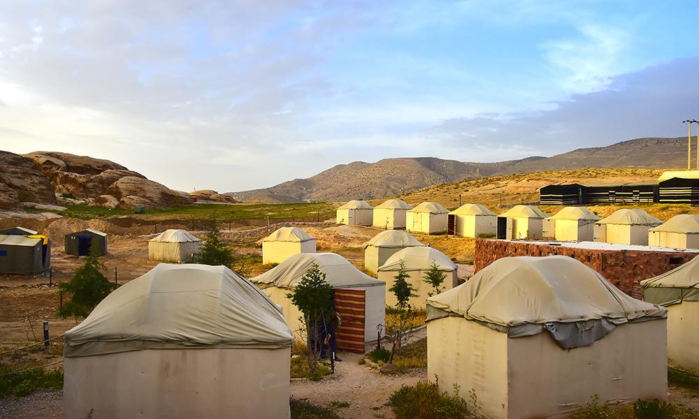 Om natten tar vi inn på Seven Wonders Bedouin Camp og sover (nesten) som ekte beduiner. Foto: Ronny Frimann