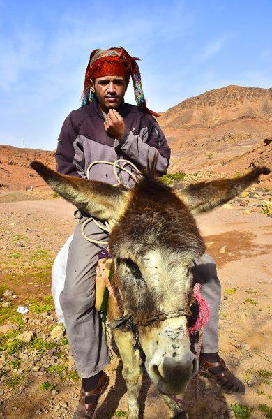 Beduiner utgjør størstedelen av Jordans befolkning, og er kjent for sin overstrømmende gjestfrihet. Og så har de tette familiebånd – dette er broren til sjefen på Feynan økolodge. Foto: Ronny Frimann