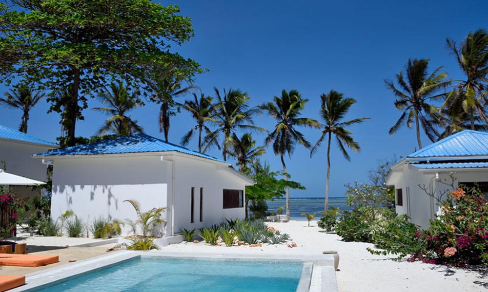 Bi bor flott på Indigo Beach Hotel på Zanzibar. Foto: Zanzibar Indigo Beach Hotel