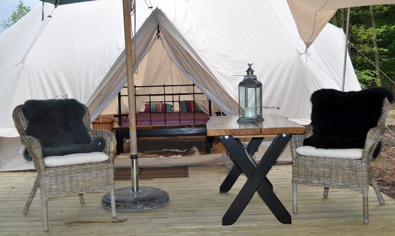 7. Glamping ved Himmelbjerget