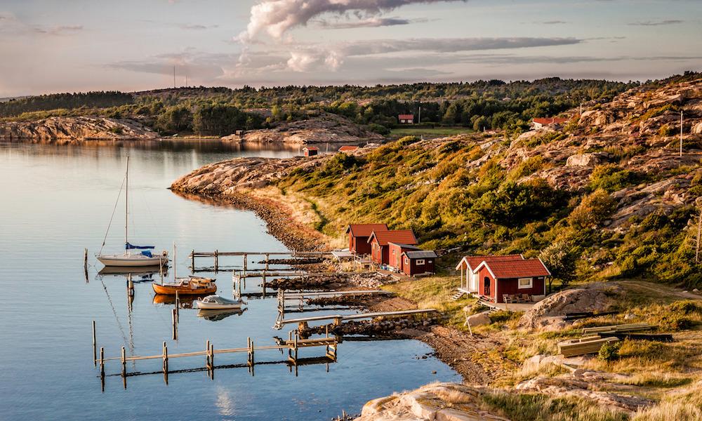 Svenskekysten: Bohuslän er idyllisk om høsten. Foto: Per Pixel Petersson/Visit Sweden