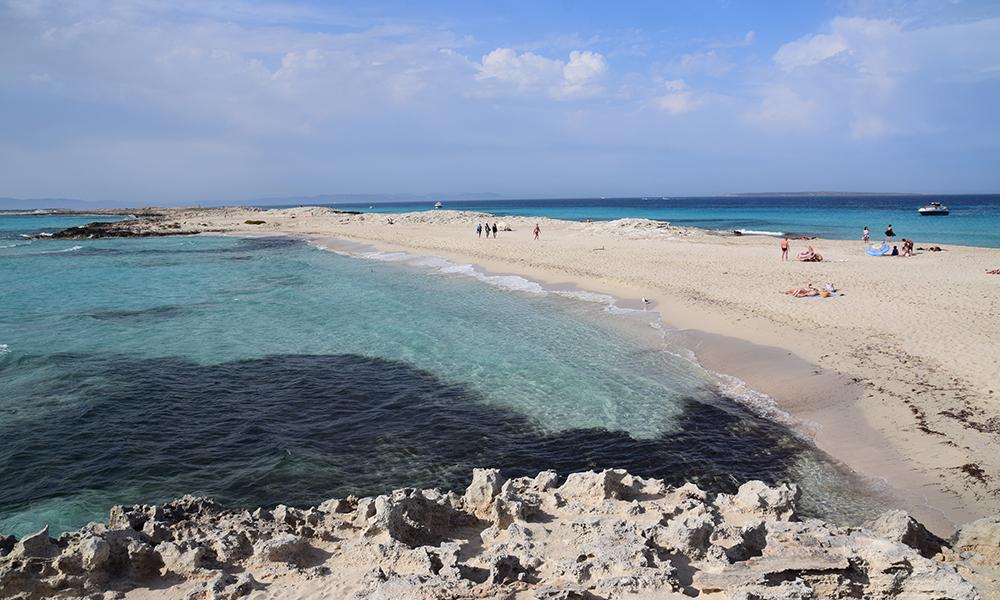 Det er forståelig at Playa de Ses Illetes har blitt kåret til Europas beste strand. Foto: Mari Bareksten