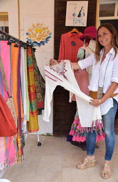 Om du er glad i hippie-chic-stilen vil du garantert finne noe du liker på Formentera. Foto: Mari Bareksten