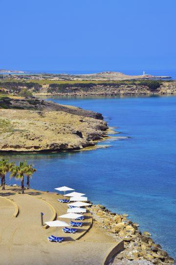Nytt: Karpaz Gate Marina er et av øyas nyeste og flotteste havneanlegg. Foto: Ronny Frimann
