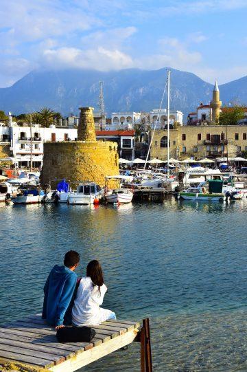 Havneby: Kyrenia, eller Girne på tyrkisk, er en stemningsfull havneby. Foto: Ronny Frimann