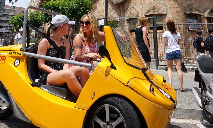 6. Snakkende bil, Barcelona