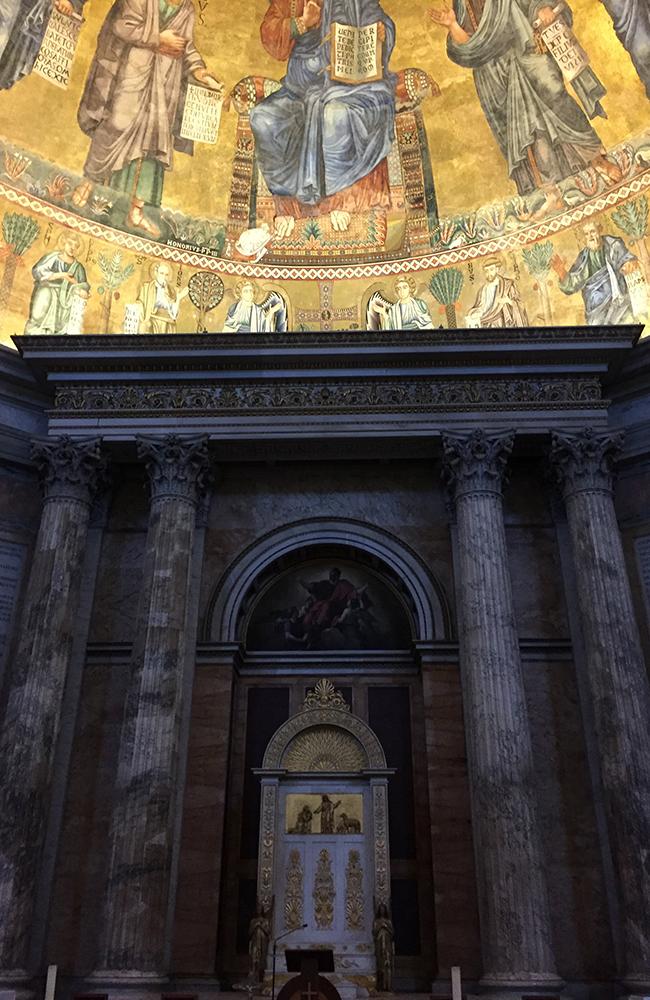 Basilica Di Santa Maria. Foto: Anette Moe