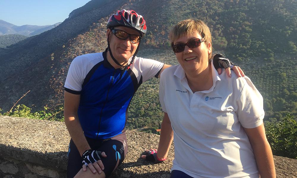 Sigmund og Anne Karin Akselsen. Foto: Anette Moe