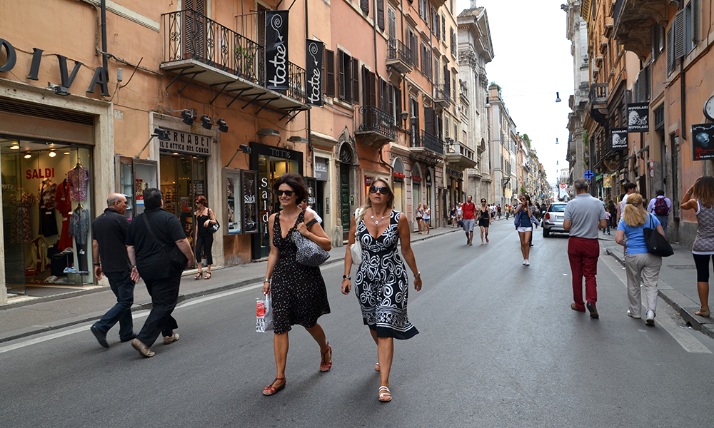 Via del Corso. Foto: Marte Veimo