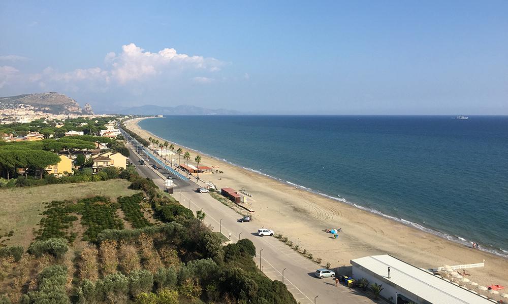 Utsikten fra hotellrommet. Foto: Anette Moe