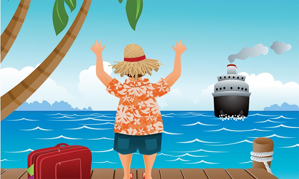 Nybegynner på cruise? Sjekk ut disse tipsene! Illustrasjon: iStock