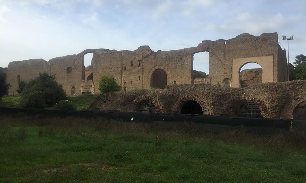 Et romersk bad. Foto: Anette Moe