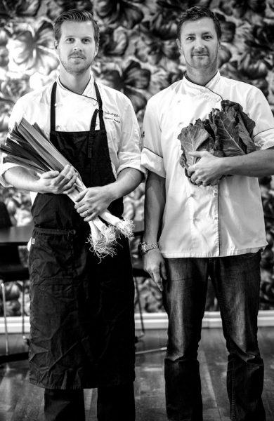 Gøteborg har hele syv stjernerestauranter i Michelinguiden, deriblant Bhoga hvor Niclas Yngvesson og Gustav Knutsson serverer retter med grønnsaker i fokus. Foto: Frode Jensen